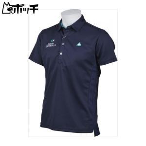 クーポンで30%OFF le coq sportif ルコックスポルティフ ゴルフ GOLF COLLECTION 半袖シャツ メンズ ネイビー QGMLJA26 NV00|pocchi-shop