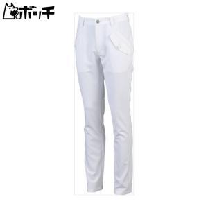 le coq sportif ルコックスポルティフゴルフ GOLF COLLECTION パンツ メンズ ホワイト QGMLJD11 WH00|pocchi-shop