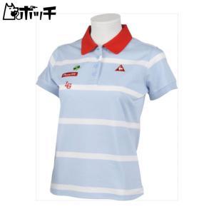 クーポンで30%OFF le coq sportif ルコックスポルティフ ゴルフGOLF COLLECTION 半袖シャツ レディース ブルー QGWLJA09 BL00|pocchi-shop