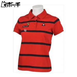 クーポンで30%OFF le coq sportif GOLFルコックスポルティフゴルフ GOLF COLLECTION 半袖シャツ レディース QGWLJA09 RD00|pocchi-shop
