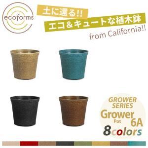 【エコ&キュートな植木鉢♪】 アメリカ、カリフォルニア州北部でオーガニックの野菜や植物を生産し卸業を...