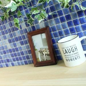 モザイクタイルステッカー ハルちゃん プチコレ 25×25mm角(15×15cmシート) ブルー|pocchione-kabegami