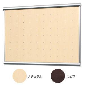 木目調でドットデザインのマグネットボード。シンプルでオシャレに飾れます。  【外寸法】幅455×高さ...