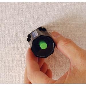 壁裏の金属下地、釘、ネジの頭探しに使用する下地探し 携帯に便利です。 【機能】 マグネットの反応で簡...