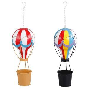 空にぷかぷかと浮いたような気球を演出♪ カラフルで存在感のある可愛いアイテム。 ハンギングできるよう...