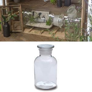 レトロな雰囲気あふれるメディシンボトルは昔、調剤用の薬の粉などの保管に使われていた瓶の形をそのまま再...