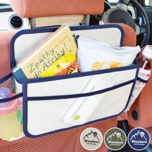 ボトルポケット2つに、大容量のマチ付きポケット、マチなしポケットのついたシートバックポケット。 硬派...