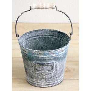 植木鉢 シエルティンバケツ丸中