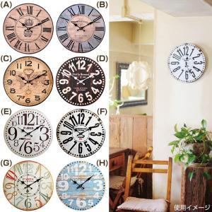 掛け時計 WALL CLOCK 34cm