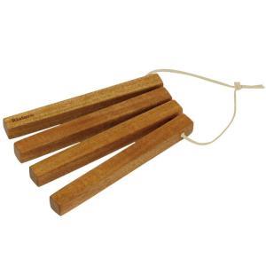 木製 リストロ スティックトリベット...
