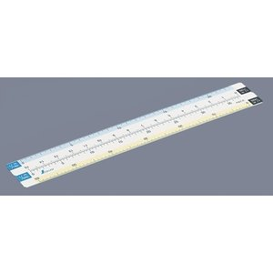 シンワ測定 折りたたみ縮尺スケール 8面 15cm 75745 (メール便対応・5個まで)