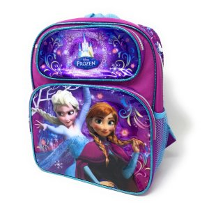 送料無料 アナと雪の女王 トドラーリュック(バックに氷の城) Disney 019384900379...