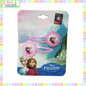 アナと雪の女王 ディズニー パッチン2Pヘアクリップ(ピンク) Frozen 48915825824...