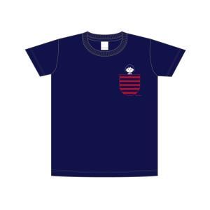 ちびまる子ちゃん Tシャツ(ボーダーポケットL)CM-TT002 キャラクター グッズ メール便OK|poccl