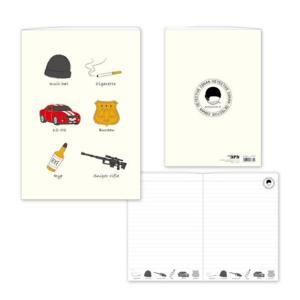 名探偵コナン B6ノート(アイテム柄 赤井) CO-NO012 キャラクター グッズ メール便OK poccl