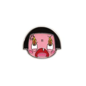 チコちゃんに叱られる ピンズ(叱り顔)CS-PI003 キャラクター グッズ メール便OK