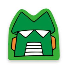 クレヨンしんちゃん ダイカットポストカード(カンタムロボ)KS-PT506 キャラクター グッズ メール便OK|poccl
