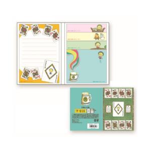 コジコジ 付箋&メモ帳(トランプ) cojicoji KG-FU202 キャラクター グッズ メール便OK poccl