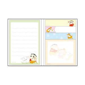 クレヨンしんちゃん 付箋&メモ帳(しんちゃん家族) KS-FU003 キャラクター グッズ メール便OK poccl