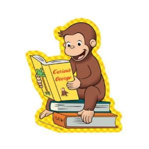 おさるのジョージ ステッカー(BOOK)curious george CG-SE006 キャラクター...