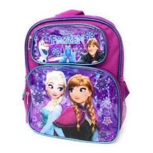 送料無料 アナと雪の女王 トドラーリュック(上ポケットにオラフとクリストフ) Disney 8755...
