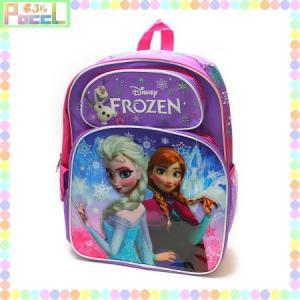 送料無料 アナと雪の女王 ディズニー ラージリュック(雪の結晶) Frozen 875598638993 グッズ|poccl