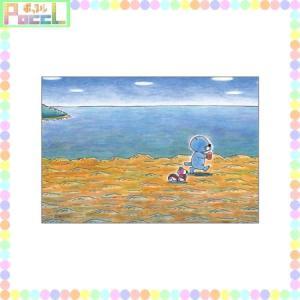 ぼのぼの ポストカード(てくてく歩く) BO-PT022 キャラクター グッズ メール便OK|poccl
