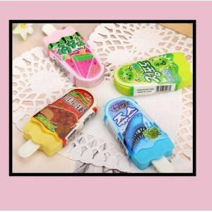 文具 消しゴム かわいい消しゴム3種類 アイスキャンディ バナナ パラソル 国産品ではないので馴染み...