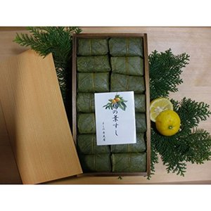 【奈良名物】【よしの弁天屋】柿の葉すし 鯖14個入り