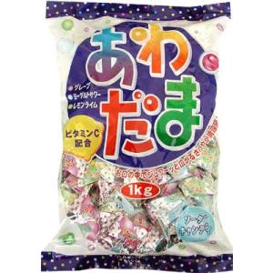 『送料無料』パイン 1kgあわだま 1kg×10袋 (業務用キャンディー)|pocket-cvs