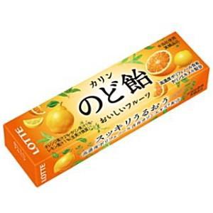 ロッテ フルーツのど飴 スティックタイプ 11粒×10本入 (キャンディ)|pocket-cvs