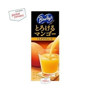 アサヒ Bireley'sバヤリース とろけるマンゴー 250ml紙パック 24本入 pocket-cvs