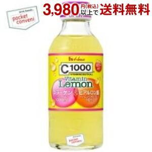 ハウスウェルネス C1000 ビタミンレモン コラーゲン&ヒアルロン酸 140ml瓶 30本入 (栄養ドリンク 果汁飲料) pocket-cvs