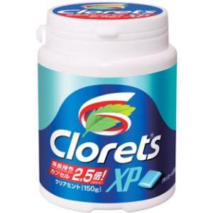 キャドバリー クロレッツXPクリアミント粒 150gボトルLS 6ボトル入 (粒ガム) pocket-cvs
