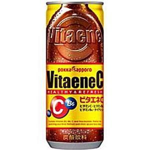 ポッカサッポロ ビタエネC 240ml缶 30本入 (エナジー 炭酸)