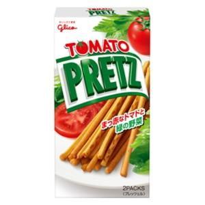 グリコ 60gトマトプリッツ 10箱入 pocket-cvs