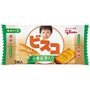 グリコ 5枚ビスコミニパック 小麦胚芽入り 20袋入 pocket-cvs