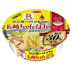エースコック 80gロカボデリ リンガーハットの長崎ちゃんぽん 糖汁オフ 12食入