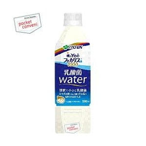 伊藤園 朝のYoo(ヨー)フェカリス菌1000 乳酸菌Water  500mlペットボトル 24本入 (チチヤス 乳酸菌)|pocket-cvs