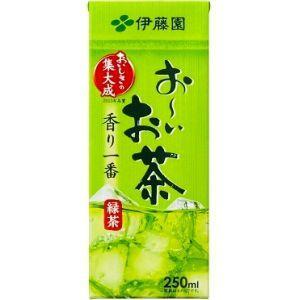 伊藤園 お〜いお茶 緑茶 250ml紙パック 24本入(おーいお茶)|pocket-cvs