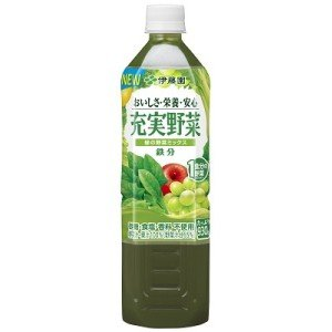 伊藤園 充実野菜 緑の野菜ミックス 930gペットボトル 12本入 (野菜ジュース)|pocket-cvs