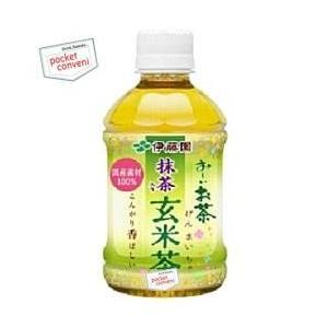 伊藤園 お〜いお茶 抹茶入り玄米茶 280mlペットボトル 24本入 (おーいお茶)