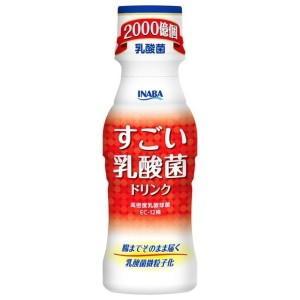 いなば食品 すごい乳酸菌ドリンク 100mlペットボトル 50本入|pocket-cvs