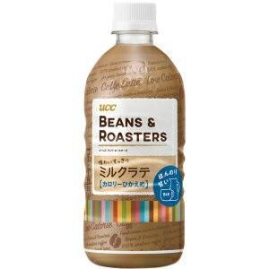 UCC BEANS & ROASTERS(ビーンズ&ロースターズ) 味わいすっきりミルクラテ  500mlペットボトル 24本入|pocket-cvs