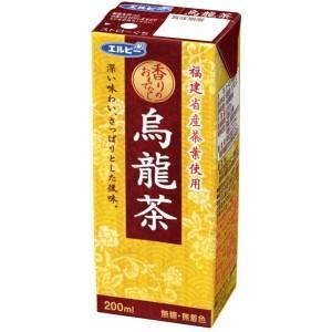 エルビー 烏龍茶 200ml紙パック 30本入(お茶 ウーロン茶)|pocket-cvs