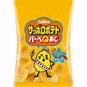 カルビー 24gサッポロポテト バーベQあじ 24袋入 (ミニサイズ)(スナック菓子)|pocket-cvs