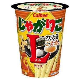 カルビー 68gじゃがりこ のり塩ごま油味Lサイズ 12カップ入|pocket-cvs