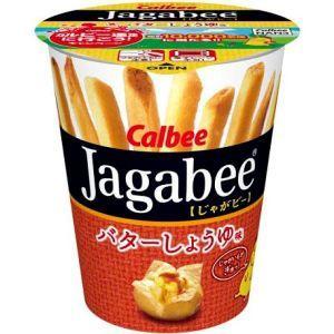 カルビー 40gJagabee(じゃがビー) バターしょうゆ...