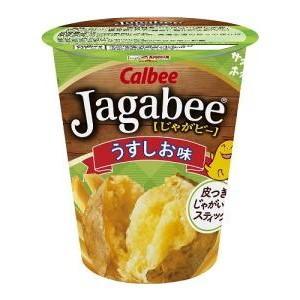 カルビー 40gJagabee(ジャガビー) うす塩味 12カップ入 (スナック菓子)|pocket-cvs