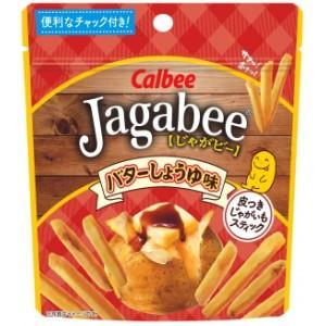 カルビー 40gJagabee(じゃがビー) バターしょうゆ味(スタンドパウチ) 12袋入(ジャガビー)|pocket-cvs